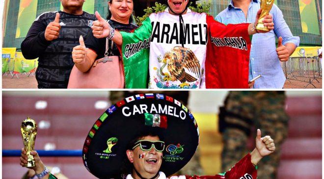 La FIFA nombra al chihuahuense Caramelo como el mejor aficionado del mundo