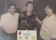 El día que Julio Cesar vino a Parral a traer gallo