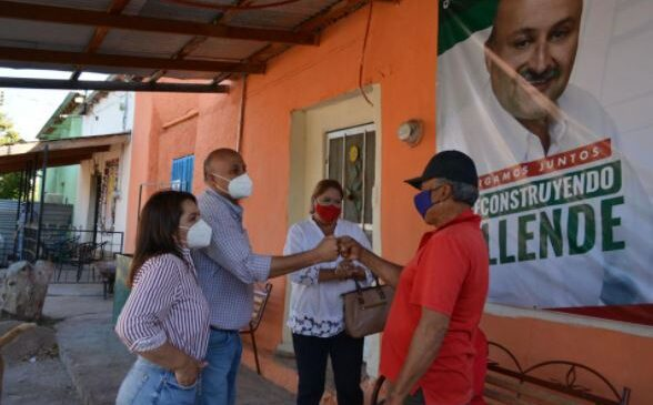 Atenderemos problemáticas de las comunidades de Allende: Chu Soto