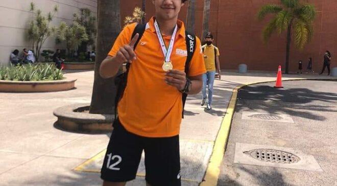 Edgar Solano, Campeón Nacional de Voleibol