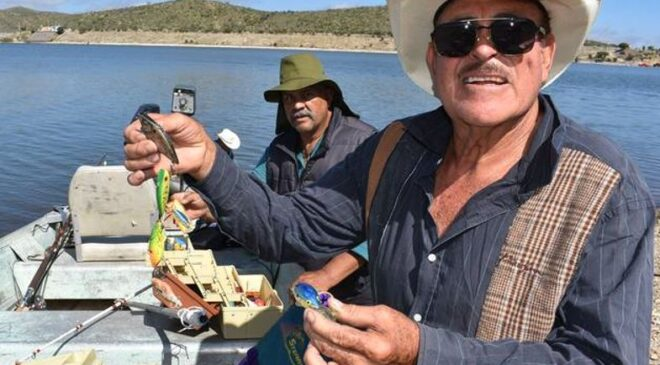 Realizan evento de pesca deportiva en Presa Pico de Águila